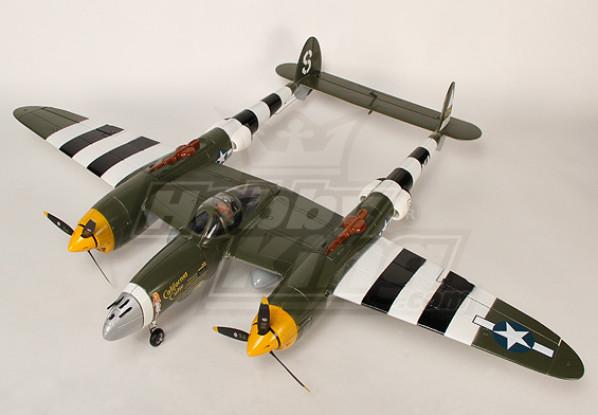 1.4m EPO Warbird w/ Retracts Plug-&-Fly(Camo.)