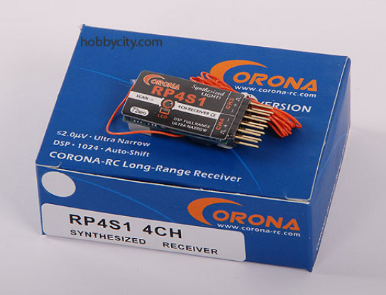 Corona Synthesized Receiver 4Ch 35Mhz (v2)