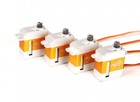 SCRATCH/DENT - RotorStar RS-2130MGC/RS-3870MGT Servo Combo Pack suits 450 size Helicopters ®
