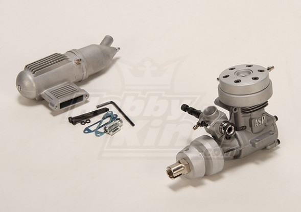 ASP 46M Two Stroke Water Cooled Glow Engine