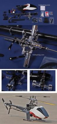 SJM 450 V2 Kit w/ ESC & Motor