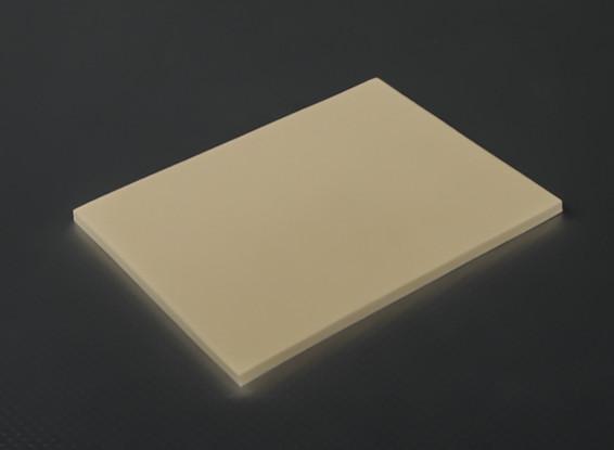 Anti-Vibration foam (Orange Latex) 190mm x 140mm x 6mm