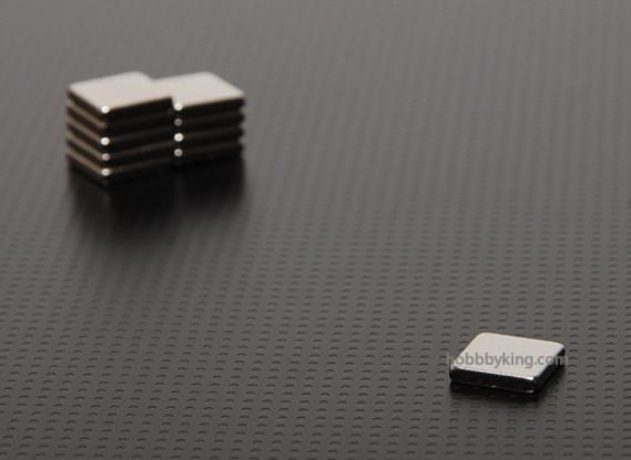 Strong Rare-earth Magnets (10pcs/set)