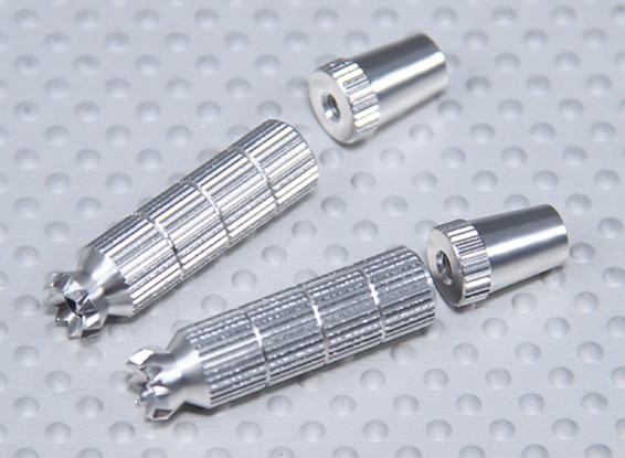 Alloy Anti-Slip TX Control Sticks Long (Futaba TX )