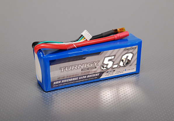 Turnigy 5000mAh 4S 40C Lipo Pack