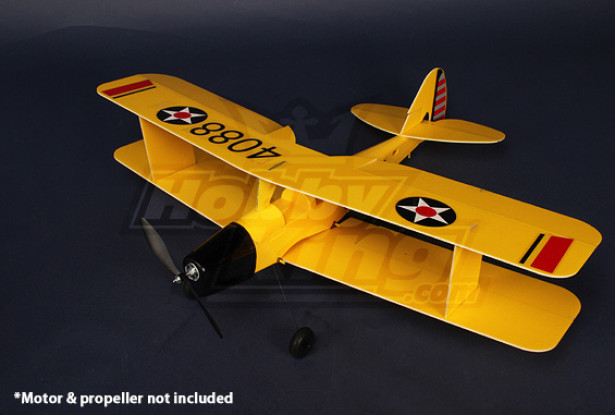 3D Tiger-Moth Airplane Model Kit