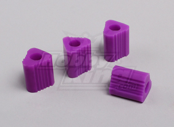 Triangular Heli Landing Pad 7mm (Purple)