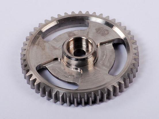 Titanium main gear 49T
