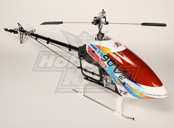 TZ-V2 .90 Size Nitro 3D Helicopter Kit (Torque Tube)