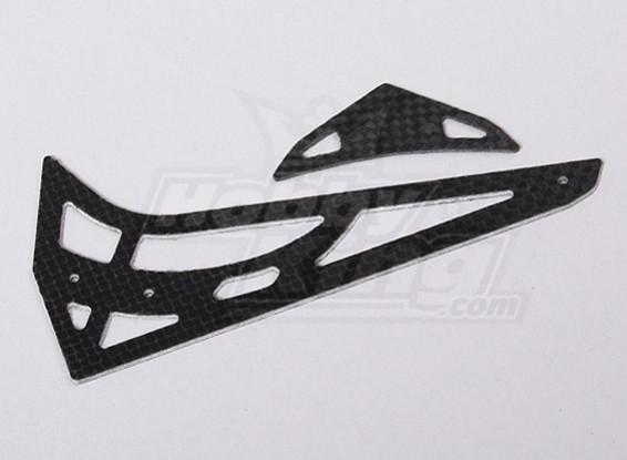 HK450V2 CF horizontal/vertical tail fin