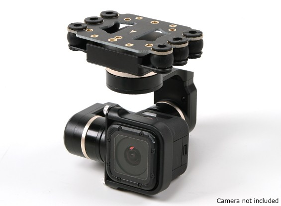 a27b428b5bf Quanum FY Mini 3D PROS 3 Axis Gimbal - GoPro Hero4 Session Compatible