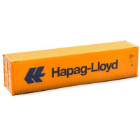 HO Scale 40ft Shipping Container (Hapag-Lloyd) side view