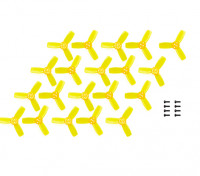 Kingkong Fly Egg 100 Racing Drone 2345 Propellers Yellow CW/CCW (10 pairs)