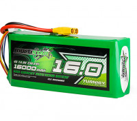 Multistar High Capacity 16000mAh 4S 12C Multi-Rotor Lipo Pack w/XT90