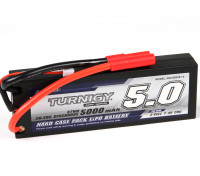 Turnigy 5000mAh 2S1P 20C Hardcase Pack (ROAR APPROVED)