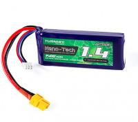 Turnigy Nano-Tech 1400mAh 2S 25C Lipo Pack w/XT60