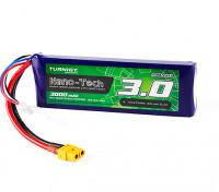 Turnigy Nano-Tech 3000mAh 3S 30C Lipo Pack w/XT60
