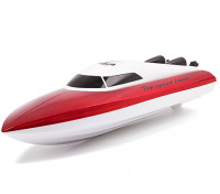 RC Boat Hull- Red