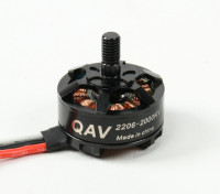 QAV RT2206-2000KV Quad Racing Motor (CW)