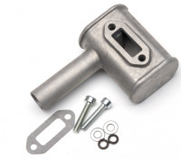 RCGF 10cc Gas Engine Replacement Muffler Set (M1004)