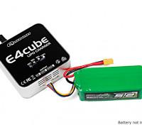 Quanum E4 Cube 50W Balance Charger for LiPo 100~240V AC (US Plug)