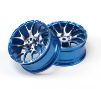 1/10 Aluminum Drift 7Y-Spoke Wheel (Blue)