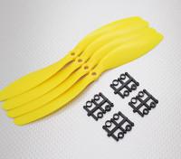 Hobbyking™ Propeller 9x4.7 Yellow (CCW) (4pcs)