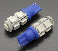 LED Corn Light 12V 1.8W (9 LED) - Blue (2pcs)