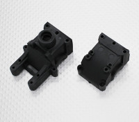 Gearbox Housing Set - 1/10 Quanum Vandal 4WD Racing Buggy