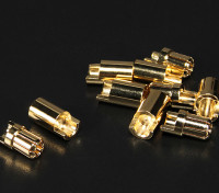 Polymax 6.5mm Gold Connectors 5 pairs (10pc)