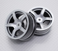 1:10 Scale High Quality Touring / Drift Wheels RC Car 12mm Hex (2pc) CR-C63S