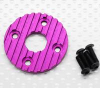 Aluminum CNC Motor Heatsink Plate 36mm (Purple)