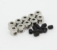 Landing Gear Wheel Stop Set Collar 6x1.8mm (10pcs)