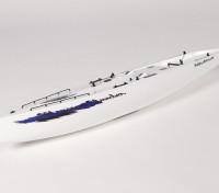 Fiberglass RC Yacht Sailboat Monsoon - Hull (Includes Two Servos)