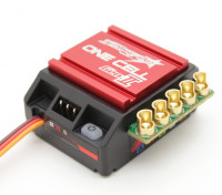 TrackStar GenII One Cell 120A 1/12th Scale Sensored Brushless ESC (ROAR/BRCA approved)
