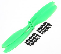Turnigy Slowfly Propeller 10x4.5 Green (CW) (2pcs)