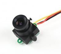 Mini CMOS FPV Camera 520TVL 120deg Field Of Vision 0.008LUX 17x17x24mm (PAL)