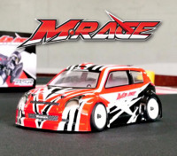 BSR Racing M.RAGE 1/10 4WD M-Chassis (Un-Assembled Kit)