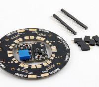 Universal 12-way 120A Multirotor Power Distribution Hub W/LEDs & Dual BECs