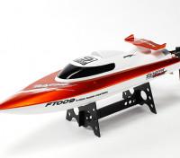FT009 High Speed V-Hull Racing Boat 460mm - Orange (RTR)