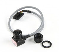 Aomway Mini 600TVL FPV Tuned CMOS Camera with Microphone and shielded cable (PAL)