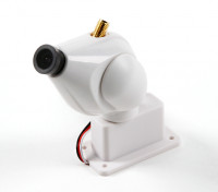 HD FPV Camera System With 32ch 5.8GHz Transmitter and Pan and Tilt Function (White)