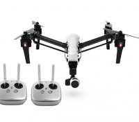 DJI T600 Inspire 1 Quadcopter w/4K Camera, 3-Axis Gimbal and Dual Transmitters