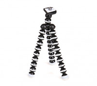 "Flexible Micro Bubble Tripod For Action Cams With 1/4""-20 Thread and Quick-Release Mount"