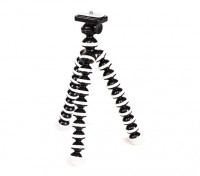 "Flexible Mini Bubble Tripod For Action Cams With 1/4""-20 Thread and Quick-Release Mount"
