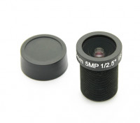 "3.6mm IR/5mp Board Lens F2.0 1/2.5"" 130°"