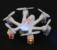 MJX X900 Nano Hexcopter With 6-Axis Gyro Mode 2 Ready To Fly (White)