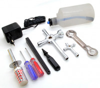 Turnigy Nitro Engine Starter Pack with Tool Set (1/10th-1/8th)