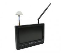 7 inch 800 x 480 40CH Diversity Receiver Sun Readable FPV Monitor Fieldview 777SB (US plug)