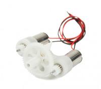 HobbyKing™ DEPS-7S Dual Geared Brushed Motor System